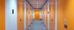 Ground Floor Self Storage Corridor In The Storage Works