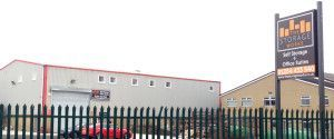 Outside View Of The Storage Works - Office Space & Self Storage Facility
