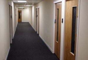 Office Corridor In The Storage Works