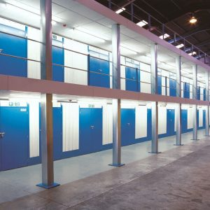 Self Storage Units Within A Very Large High Eaves Warehouse