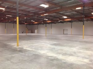 Warehouse Shell Before Self Storage Installation