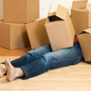 stress moving house
